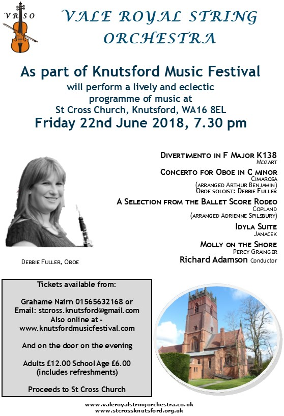 knutsford poster